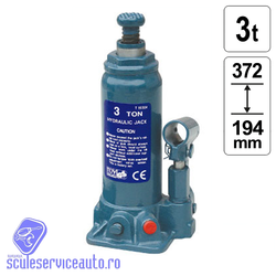 Cric Hidraulic 3 T * 194 - 372 mm - TH90304-MK